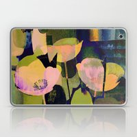 3 Abstract Flowers  Http… Laptop & iPad Skin