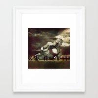 Eulogy Of LOVE Framed Art Print