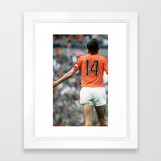 JC14 Cruijff Framed Art Print