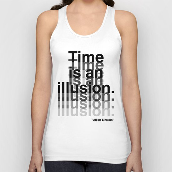 Illusion (Albert Einstein)  Unisex Tank Top