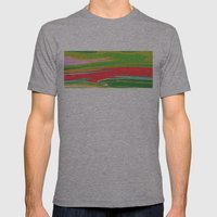 Summer Grass Mens Fitted Tee Athletic Grey SMALL