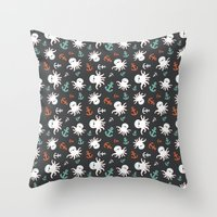 Octonautical Throw Pillow