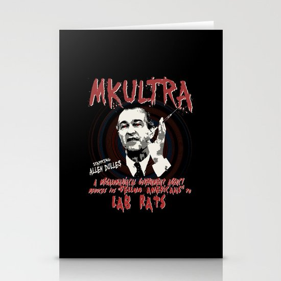 MKULTRA Stationery Card