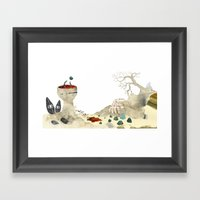 Gabriela Mistral 3 Era P… Framed Art Print