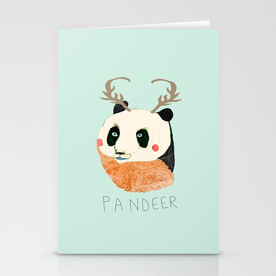 PANDEER :D Stationery Card