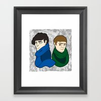 Messrs Framed Art Print