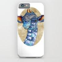 Zen Giraffe - Watercolour iPhone 6 Slim Case