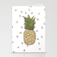 Pinapple Stationery Cards