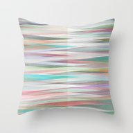 Nordic Combination 10 Throw Pillow