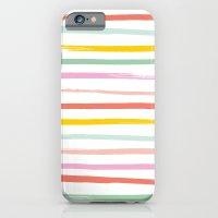 Fruit Stripes iPhone 6 Slim Case