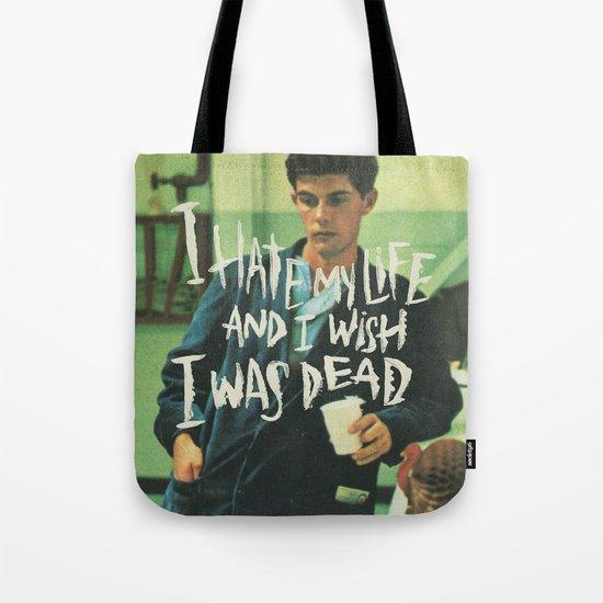 POOR FELLA Tote Bag