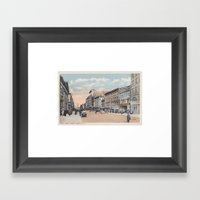 North Pearl Street, Alba… Framed Art Print