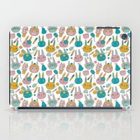 Pattern Project #14 / Bunny Faces iPad Case