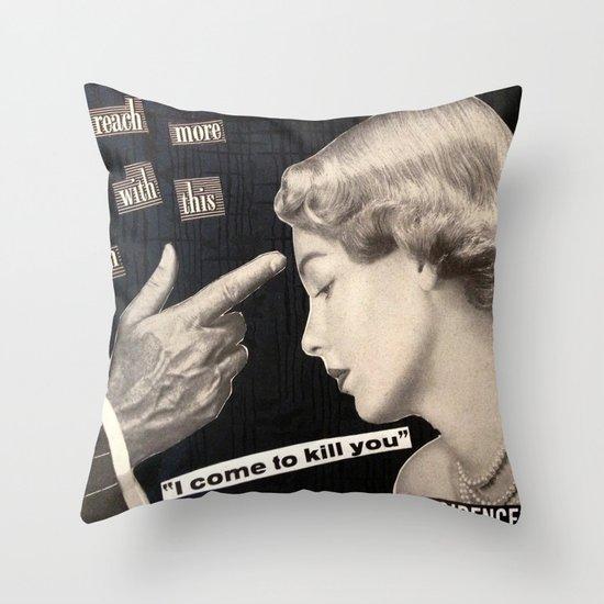 Modern Angle Throw Pillow