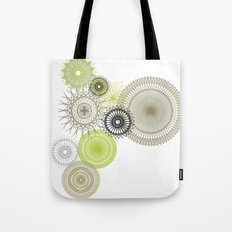 Modern Spiro Art #1 Tote Bag