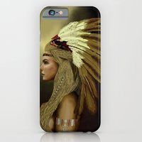 native american iPhone & iPod Cases featuring Native american by Blaz Rojs