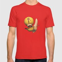 Jack Bananaton Mens Fitted Tee Red SMALL