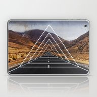 Laptop & iPad Skin featuring Landscape Triangle by Cafelab