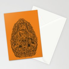kill the tiger Stationery Cards