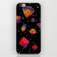 DIAMONDS IN THE SKY iPhone & iPod Skin