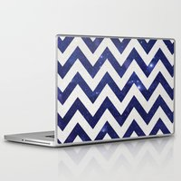 chevron Laptop & iPad Skins featuring ChEVRON by Monika Strigel