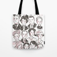 Downton Abbey Tote Bag