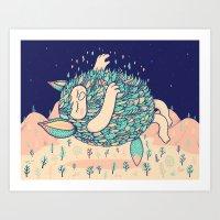 Lightness Art Print