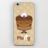 Fluffy Chocolate Mousse Cake iPhone & iPod Skin