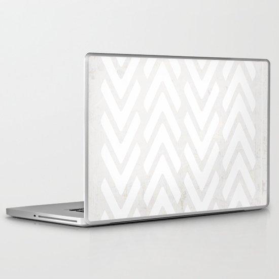 Chevron Tracks Laptop & iPad Skin