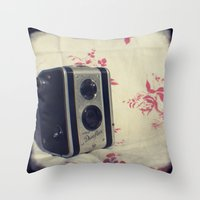 Click click Throw Pillow