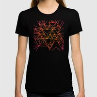 Tri Womens Fitted Tee Black SMALL