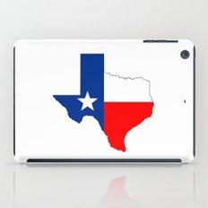 texas flag map iPad Case