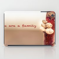We Are a Family iPad Case