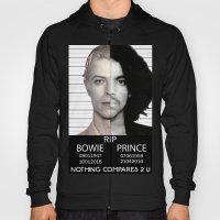 BOWIE + PRINCE Mugshot Hoody