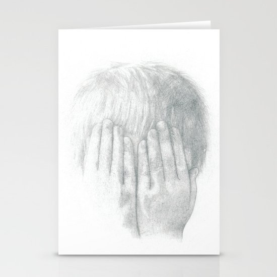 You Can't See Me Stationery Card