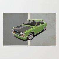Datsun 510 - Green Rug