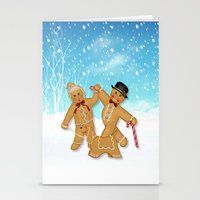 Gingerbread Family Winte… Stationery Cards
