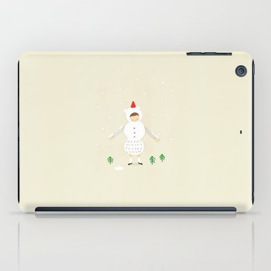 snow snow iPad Case