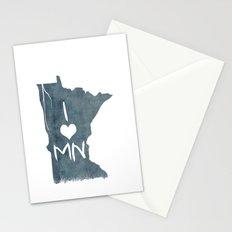 I LOVE MN Stationery Cards