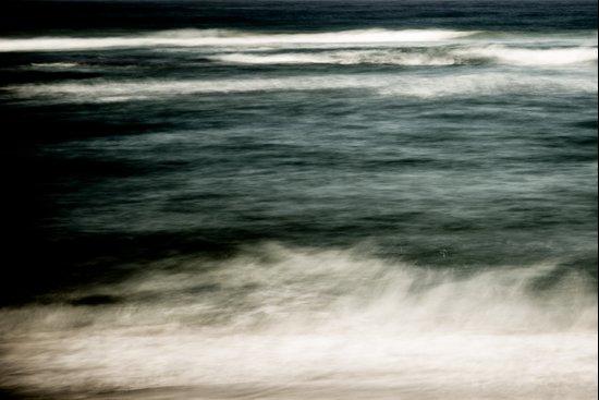 Waves Abstract III Art Print