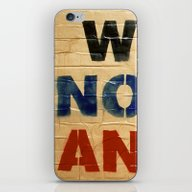 WAR IS NOT THE ANSWER iPhone & iPod Skin