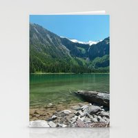 Avalanche lake Stationery Cards