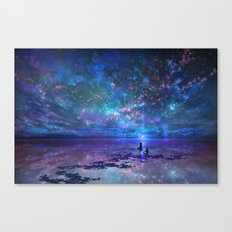 Ocean, Stars, Sky, and You Canvas Print