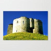 York Tower Canvas Print