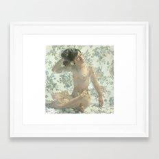 Rugosa Alba Framed Art Print