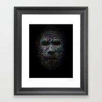 Chimbu Man Framed Art Print
