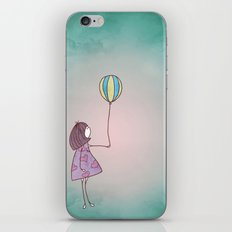 One Ballon iPhone & iPod Skin