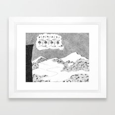 Big Picture, Small Picture Framed Art Print