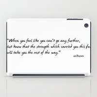 Go Further! iPad Case