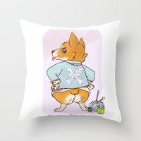 Good Dog Throw Pillow